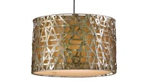 Best industrial style drum pendant light