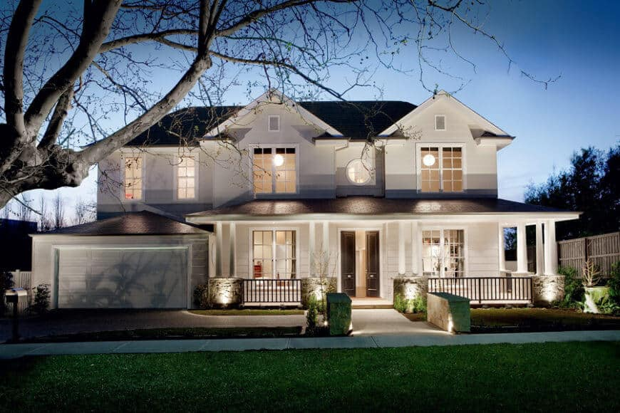 14 Transitional Style Homes Exterior And Interior Examples Ideas Photos Home Stratosphere