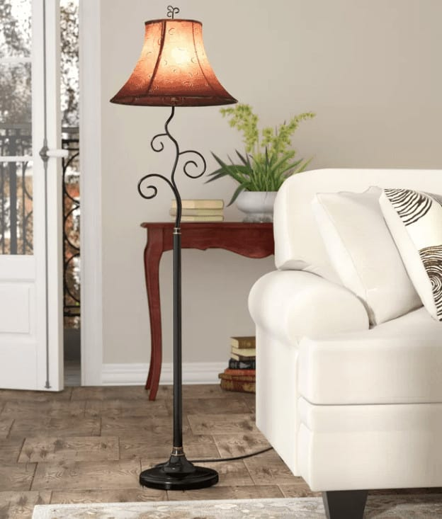 Country style floor lamp