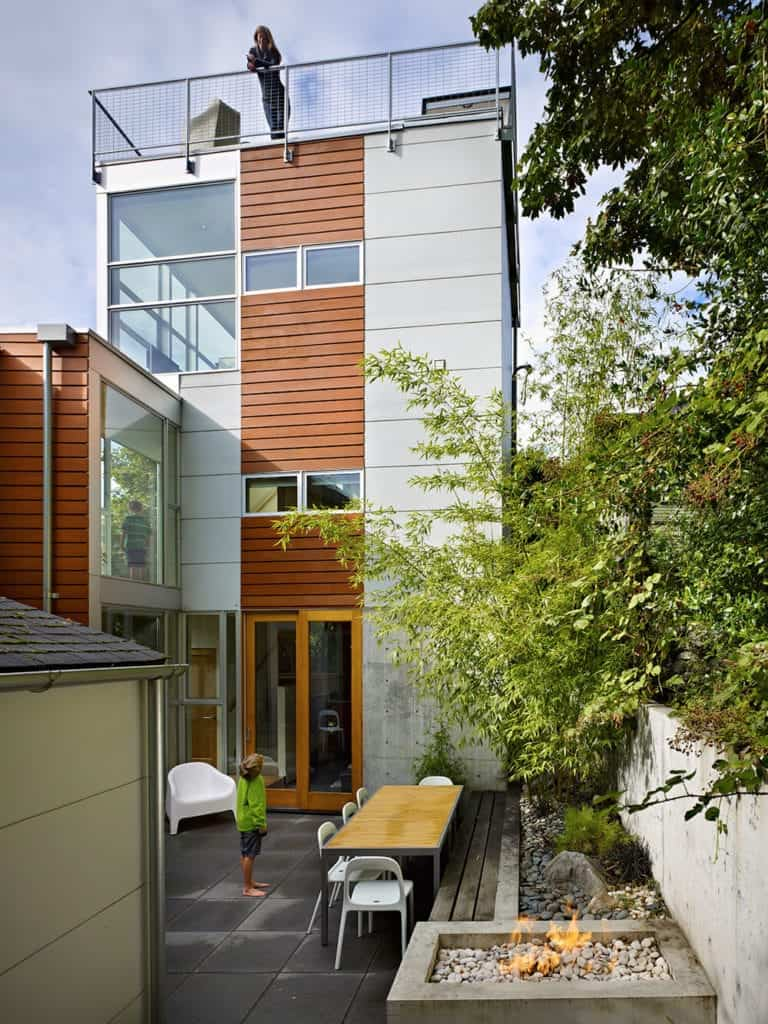 Incredible Amalgamous Tower House by David Coleman Architecture