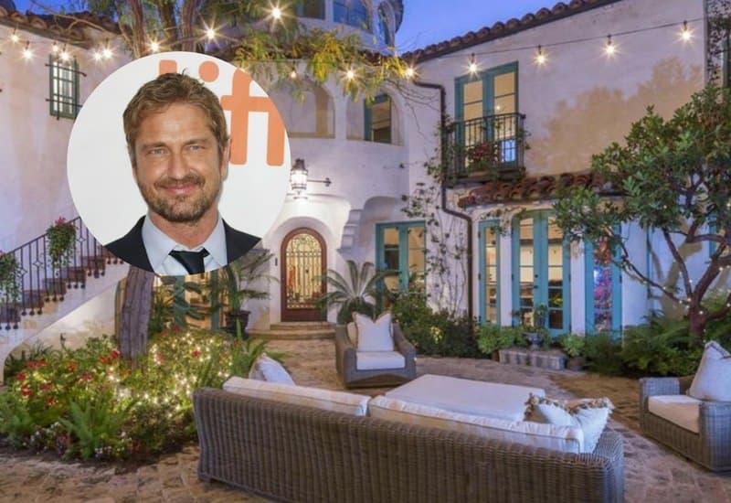 Gerard Butler's Hillside Los Feliz home