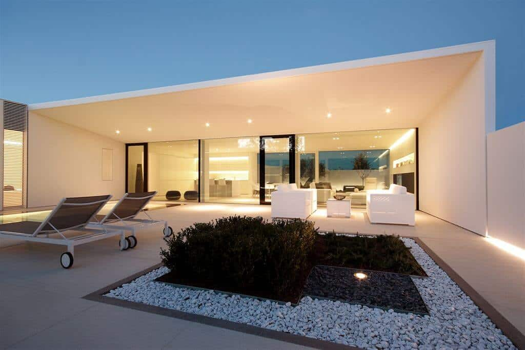 Jesolo Lido Pool Villa Custom Home Design by JM Architecture