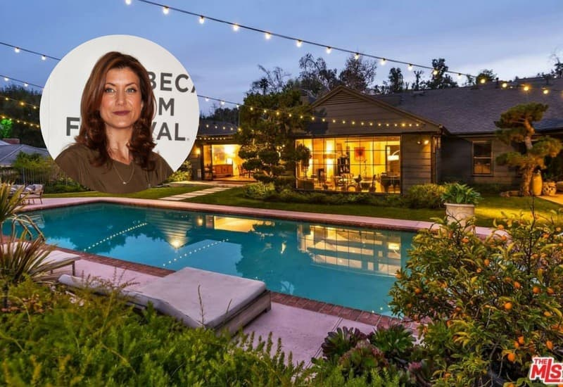 Kate Walsh rents her home.