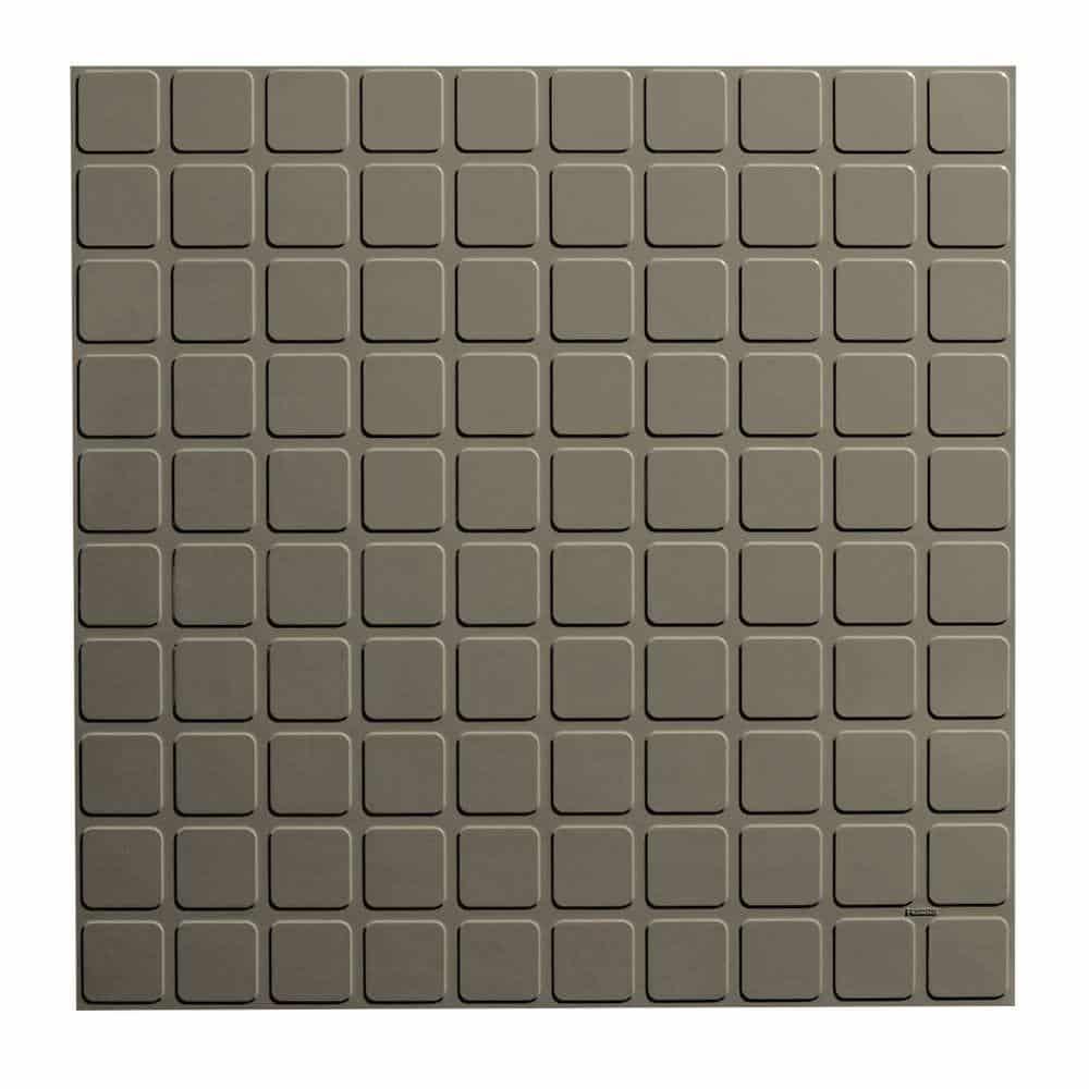 Rubber tile for kitchen floor