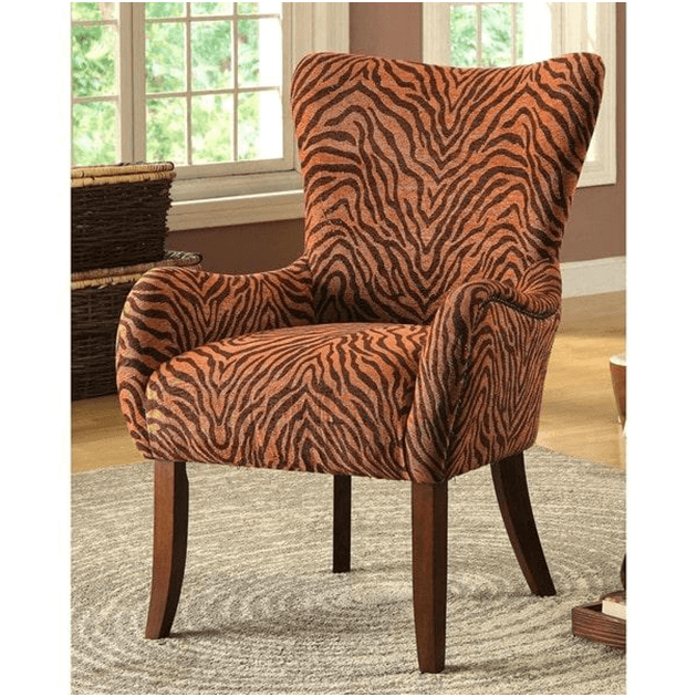 Global Inspired Accent Chair
