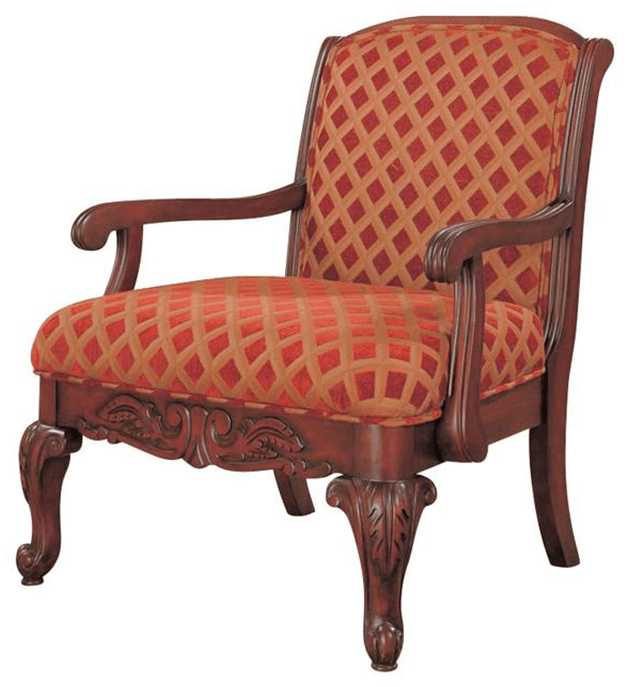 Upholstery Color and Pattern Accent Chair