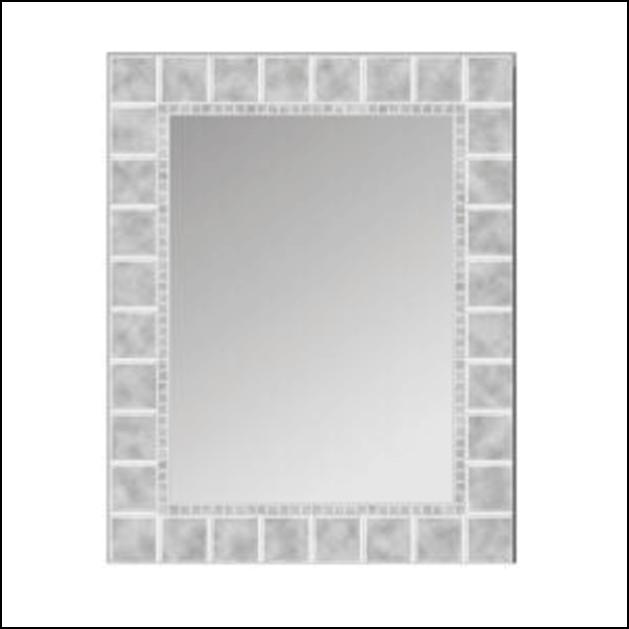 Opaque mirror