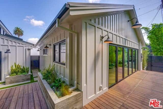 Eco-Friendly Bungalow with Soaring Ceilings, Wide-Plank French Oak Floors, and Accordion & French Doors