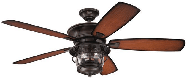 standard ceiling fan light