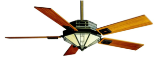 Mission Style Ceiling Fan