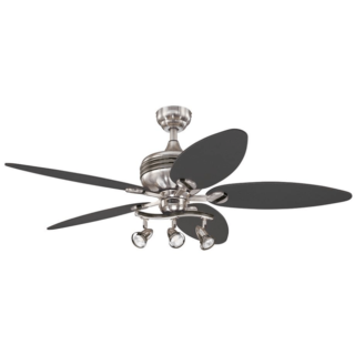 Branched Lights Ceiling Fan