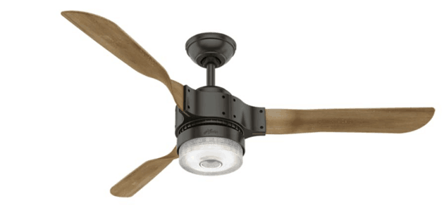 25 different types of ceiling fan lights ultimate buying guide source hunter fan aloadofball Image collections