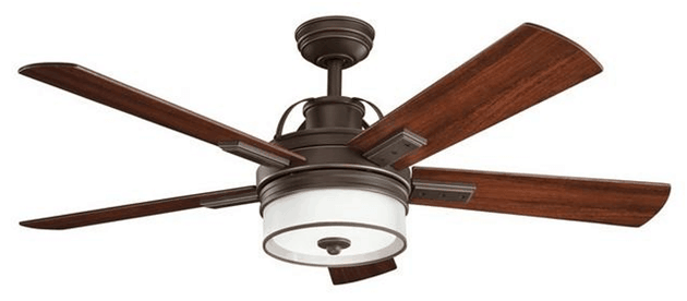 Transitional Style Ceiling Fan