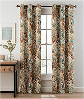 panel pair curtain