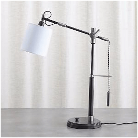 Industrial style desk lamp