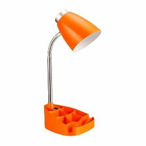 Plastic desk lamp
