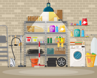 Garage storage ideas - illustration