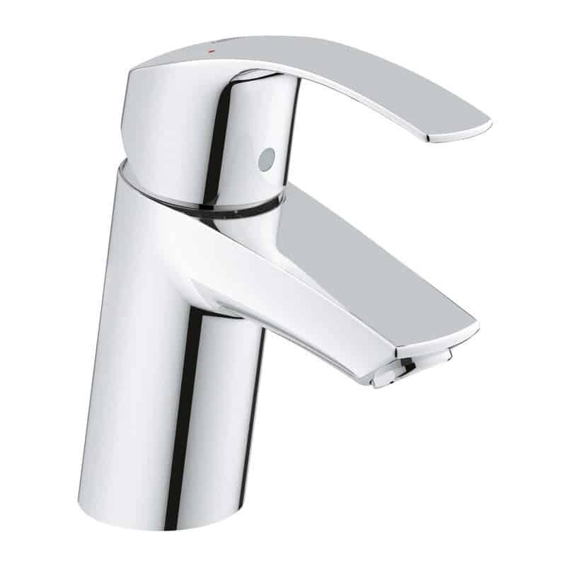 The Grohe Eurosmart Single-Hole bathroom faucet from Wayfair.