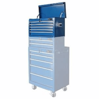 Tool cart (upright) on wheels