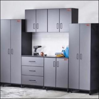 Garage storage and organization system
