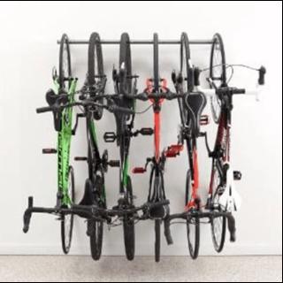 Bike rack wall mounted for the garage