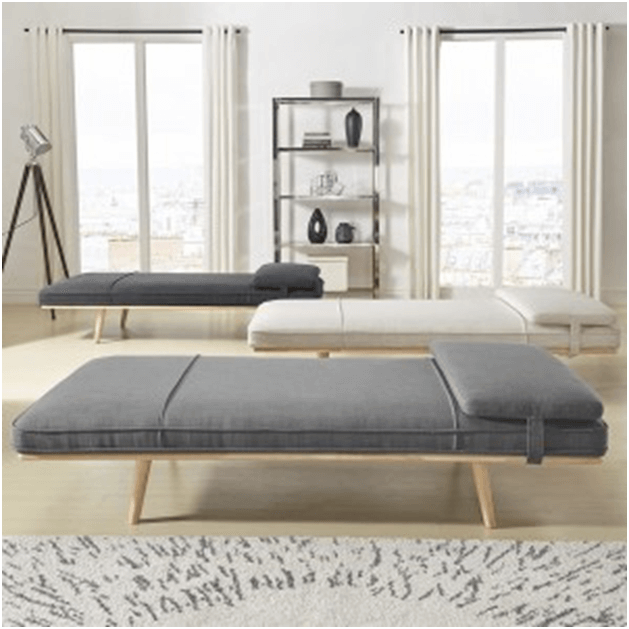 Chaise lounge bench