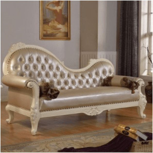 Meridian style chaise lounge