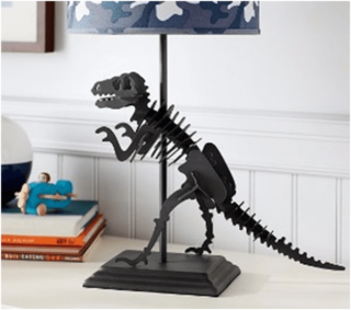 Dinosaur desk lamp for kids bedroom