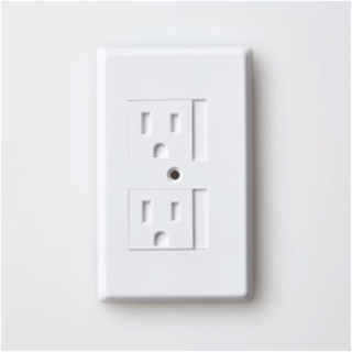 Outlet protectors for young kids room