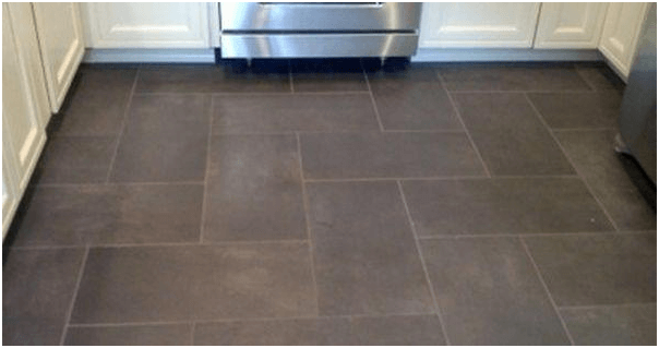 Superbe Ceramic Tile Kitchen Flooring