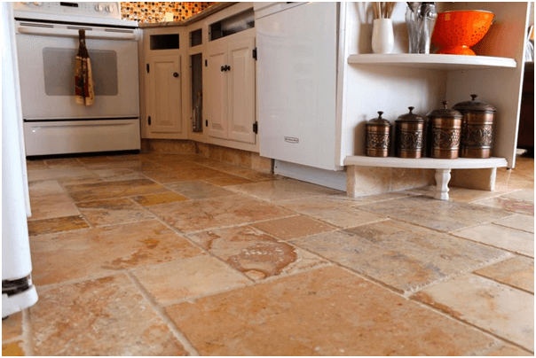 Ordinaire Granite Tile Kitchen Flooring