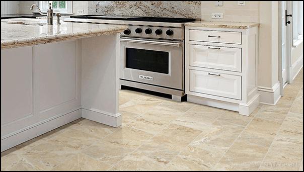 Onyx Tile Kitchen Flooring
