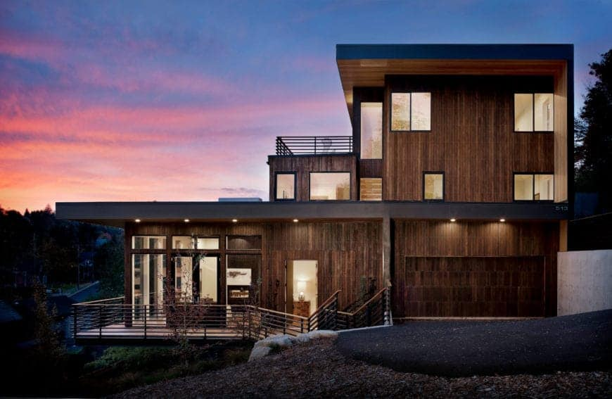 Modern Natural Madison Park House by First Lamp