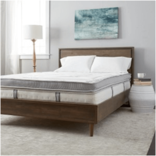 Hybrid innerspring and foam mattress