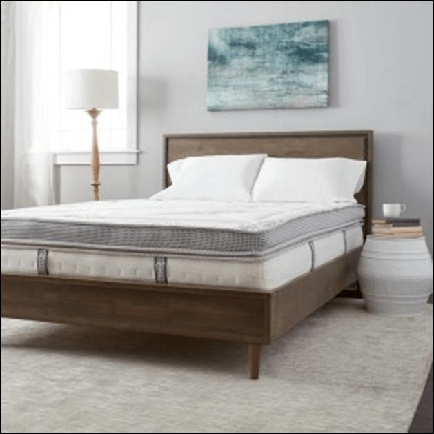 Hybrid innerspring and foam mattress