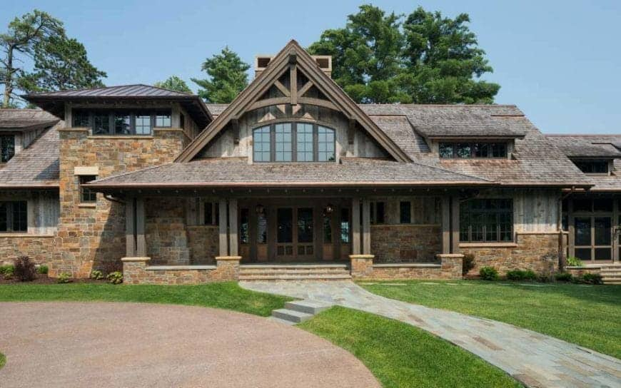 """Sumptuous Northern Wisconsin """"Cabin"""" by John Kraemer and Sons"""