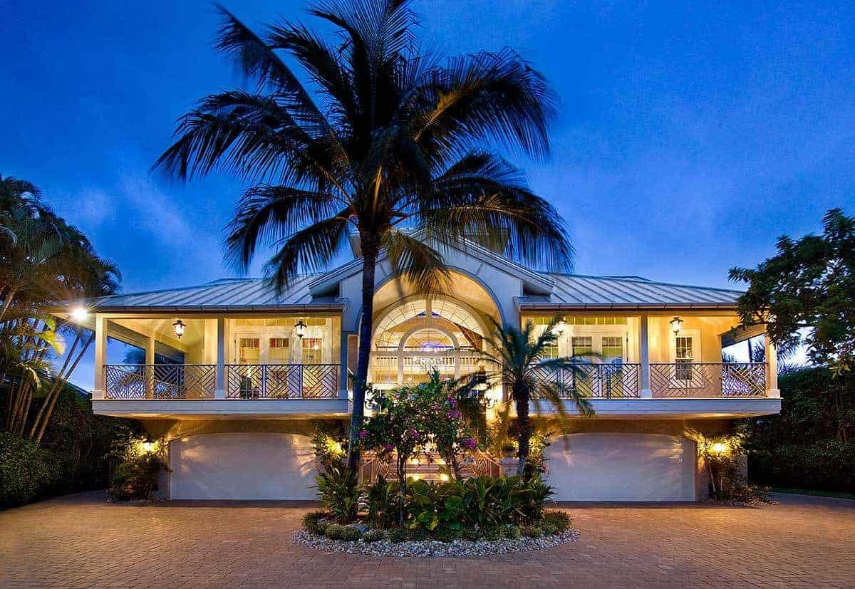 Raised Island Ocean Dream House