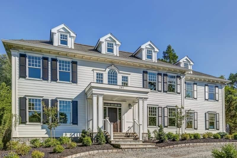 Luxury Home in Old Short Hills Featuring Open Floor Plan & Clean, Transitional Finishes