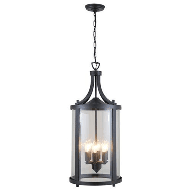 Hanging lanterns are considered a pendant lighting fixture with versatile features, that you can simply hang from a chain to the ceiling.