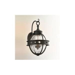 French Country obviously fits any French country style home exteriors with classical features such as rounded shape cage and a hook-like connection on top.
