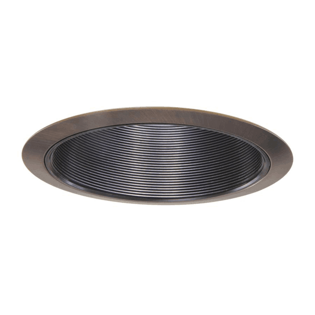 Baffle trim recessed light