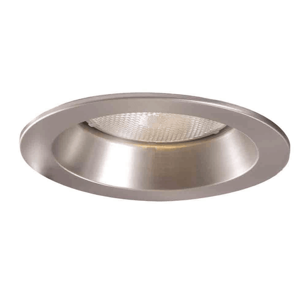 Open trim recessed lighting