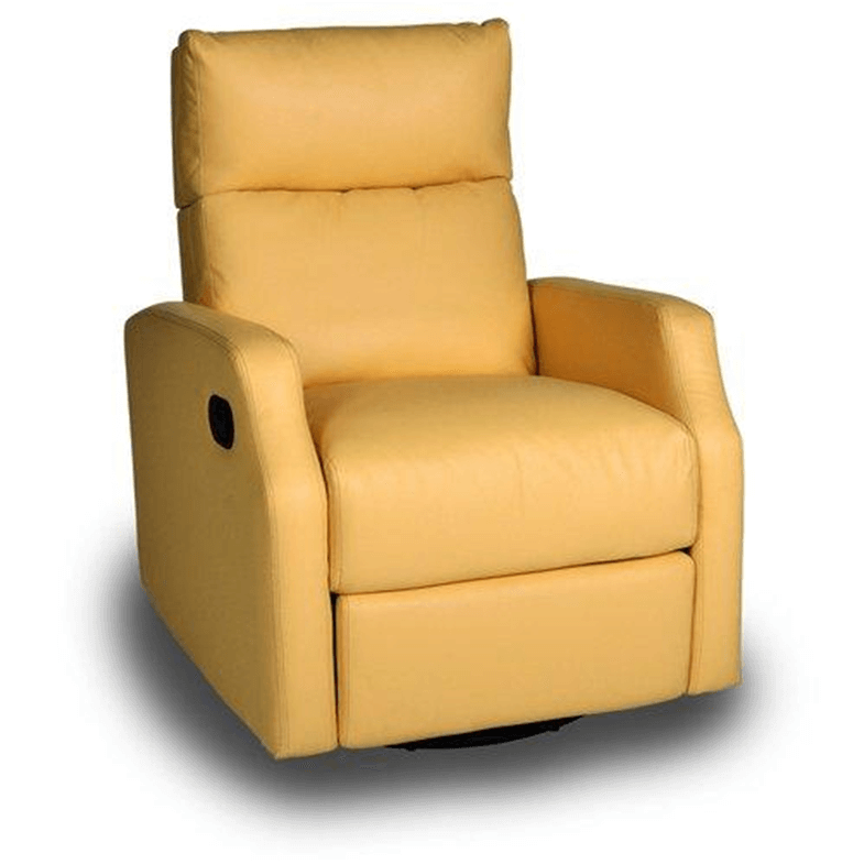 Yellow Chestnut Run Chaise Recliner