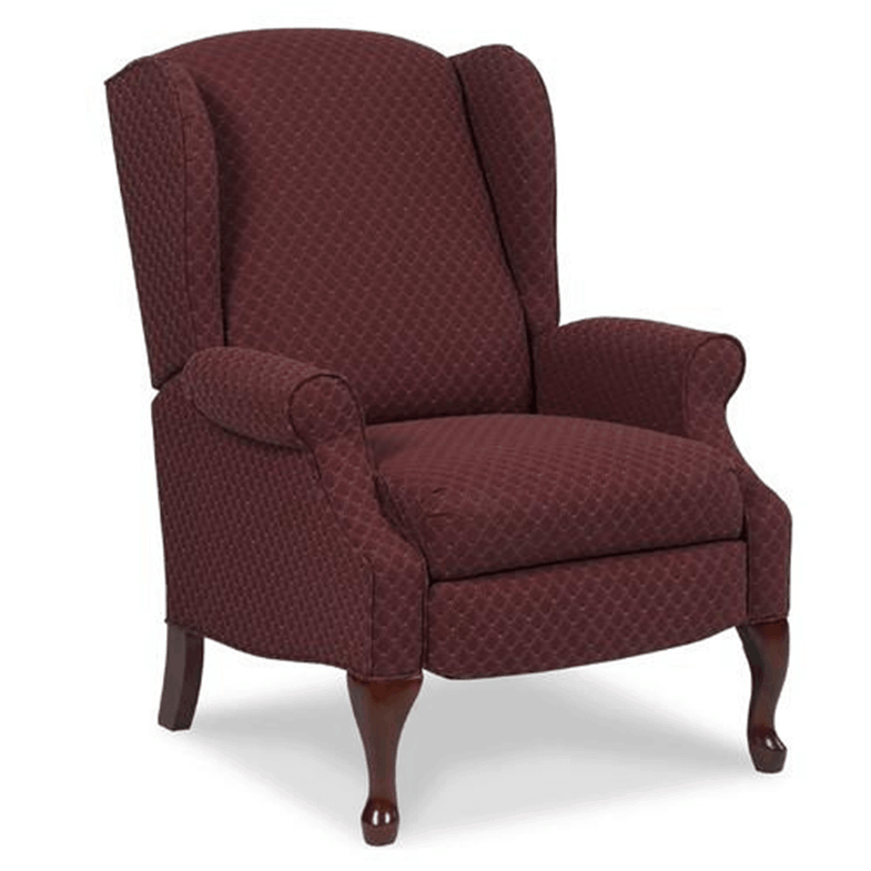 Burgundy Hampton Recliner Chair