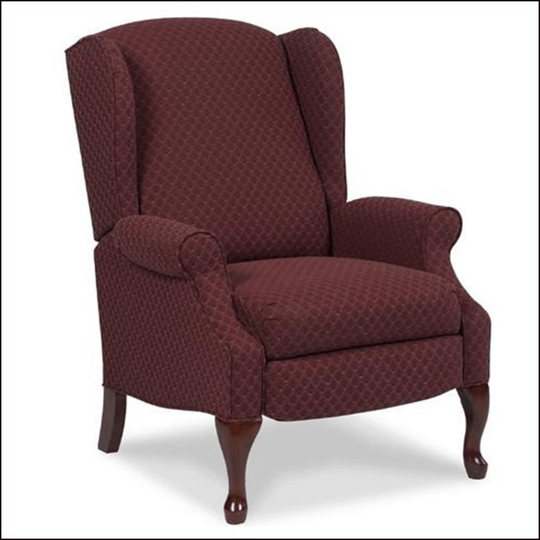 Burgundy Hampton Recliner Chair
