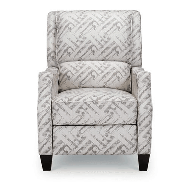 Gray and white Timothy Recliner chair