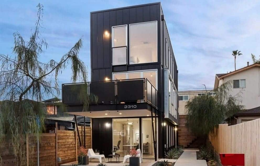 Iconic Modern Industrial Home Featuring Fabulous Indoor-Outdoor Lifestyle