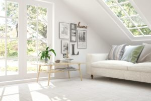 High Quality Example Of Scandinavian Home Decor
