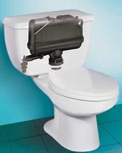 Pressure-Assisted Toilet