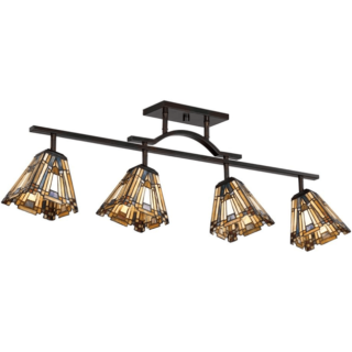 Example of Victorian style track lighting